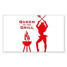 Queen Of The Grill (Barbecue) Decal