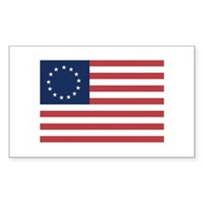 13 Star Colonial American Flag Decal