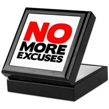 No More Excuses | Fitness & Bodybuilding Slogan Ke