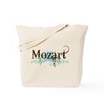 Cool Grunge Mozart Music Tote Bag