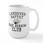 Book Burning 101 Large Mug