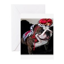 Avalanche The King Greeting Cards (Pk of 10)