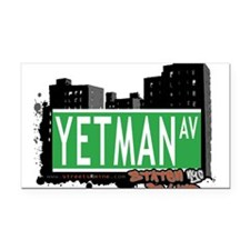 New Section Rectangle Car Magnet