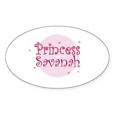 Savanah Oval Decal