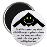 "It will be a great day! 2.25"" Magnet (10 pack)"