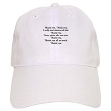 Thank You -- new items Baseball Cap