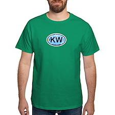 Key West - Oval Design. T-Shirt