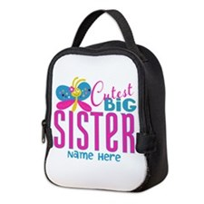 Personalized Big Sister Neoprene Lunch Bag