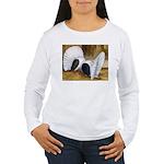 Saddle Fantails Women's Long Sleeve T-Shirt