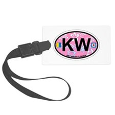 Key West - Oval Design. Luggage Tag