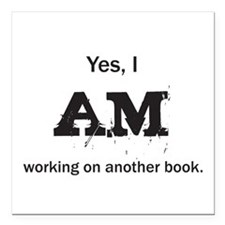 """Yes, I AM - Square Car Magnet 3"""" x 3"""""""