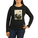 Swallow Pigeon Women's Long Sleeve Dark T-Shirt