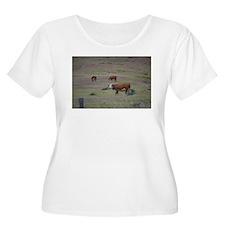 Cows Plus Size T-Shirt