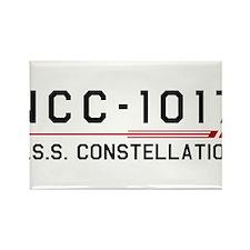 USS Constellation Dark Rectangle Magnet