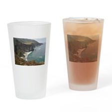 Rocky CA Coast Drinking Glass