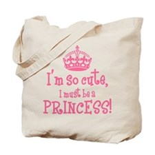 So Cute Princess Tote Bag