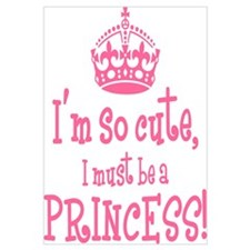 So Cute Princess Wall Art