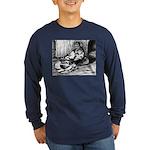 Splash English Trumpeter Long Sleeve Dark T-Shirt