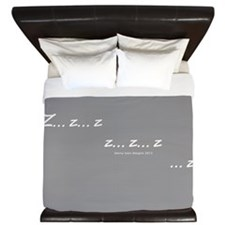 Zzz Twilight King Duvet