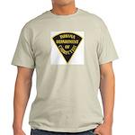 Indiana Correction Ash Grey T-Shirt