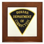 Indiana Correction Framed Tile