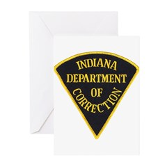 Indiana Correction Greeting Cards (Pk of 10)