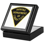 Indiana Correction Keepsake Box
