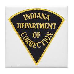 Indiana Correction Tile Coaster