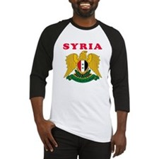 Syria Coat Of Arms Designs Baseball Jersey