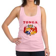 Tonga Coat Of Arms Designs Racerback Tank Top