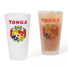 Tonga Coat Of Arms Designs Drinking Glass