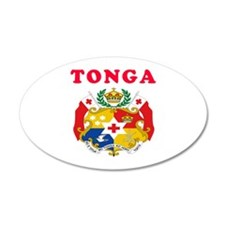 Tonga Coat Of Arms Designs Wall Decal