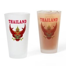 Thailand Coat Of Arms Designs Drinking Glass