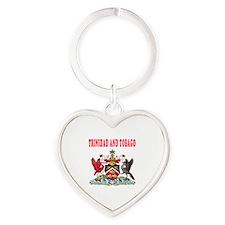Trinidad and Tobago Coat Of Arms Designs Heart Key