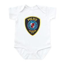 OK City Police Infant Bodysuit