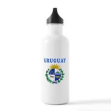 Uruguay Coat Of Arms Designs Water Bottle