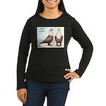 Shakhsharli Pigeon Standard Women's Long Sleeve Da