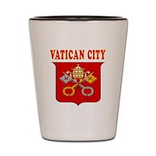 Vatican City Coat Of Arms Designs Shot Glass