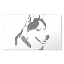 Siberian Husky Sled Dog Decal