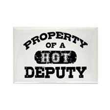 Property of a Hot Deputy Rectangle Magnet