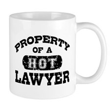 Property of a Hot Lawyer Small Mug