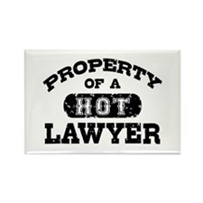 Property of a Hot Lawyer Rectangle Magnet