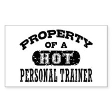 Property of a Hot Personal Trainer Decal