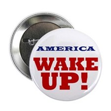 "Wake Up 2.25"" Button (10 pack)"