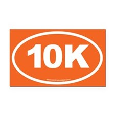 10K, 6 Rectangle Car Magnet