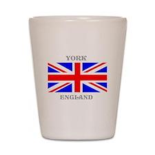 York England Shot Glass