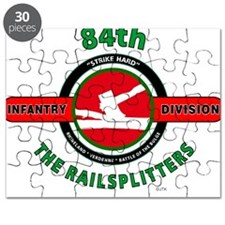 84th Infantry Division The Railsplitters Puzzle