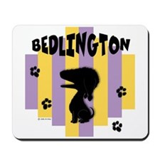 Bedlington Terrier Stripe Mousepad