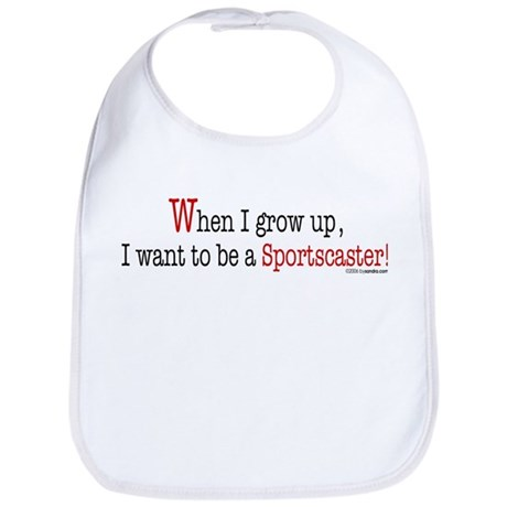 ... a sportscaster Bib