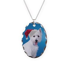 Santa Westie Necklace